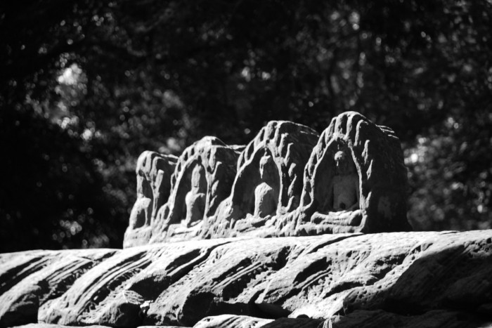 Carvings of Buddha