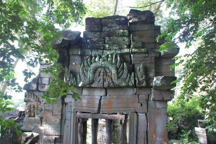 Lintel with Buddhist images