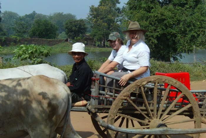 Ox-cart tour